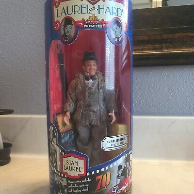 Stan Laurel Acrion Figure Laurel And Hardy Limited Edition 4042 Of 8351