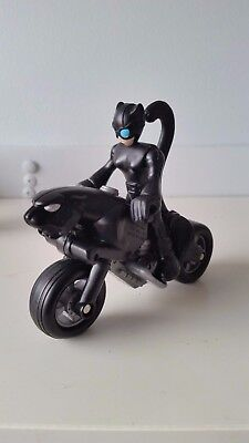 Fisher price imaginext D C Superfriends - Catwoman, Cycle