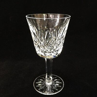 "Waterford Crystal Lismore Claret Wine Glass, 5 7/8"" Tall x 3"" Diameter"