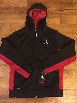 JORDAN Jumpman boys Full Zip Hoodie Jacket 951373 size S M L XL