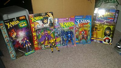 Huge Large Figure Lot of 6 Marvel X-men Classic Apocalypse Jean Psylocke Cyclops