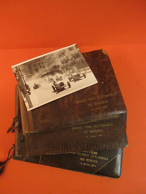 All Original 4° Grand Prix Automobile Monaco Gp 1932 Photo Album Racing Car