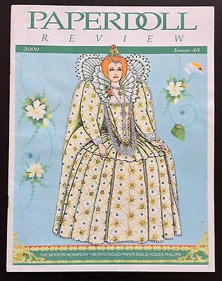 Paper Doll Review Magazine, #45, 2009, Princess Victoria of Sweden Paper Doll