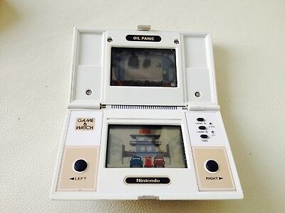 Nintendo Game and Watch Oil Panic- RARE Future Tronics Labelled Console