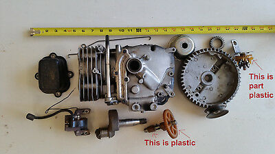 Steampunk Art Large industrial machine parts lot A Gears Repurposing FREE SHIP