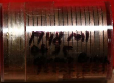 1948 Roll Of 25 Red Great Britain One Cent Coins Free S/H