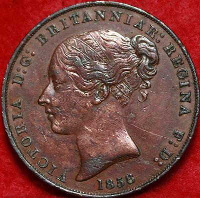 1858 Jersey 1/13 Shilling Foreign Coin Free S/H