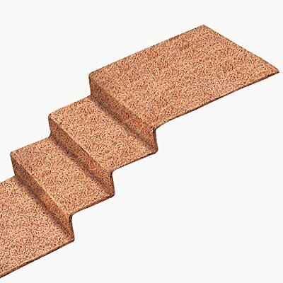 """Durable Fibers Miles Kimball No-Slip Ice Carpet for Stairs 10""""x30"""" by Ice Carpet"""