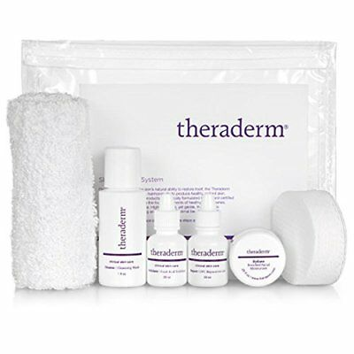 Theraderm Skin Renewal Travel System - Powerful Antioxidants Healthy Appearance