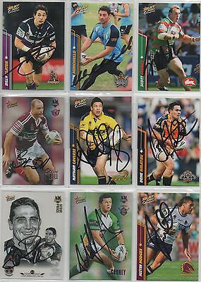 Signed 2007 Champions***Variety of Players available
