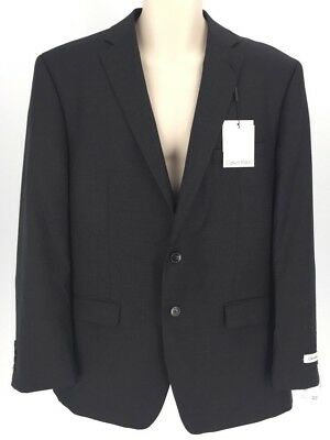 Calvin Klein Mens Grey 2 Piece Garment Suit 42R $525