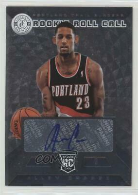 2013 Totally Certified Rookie Roll Call Signatures Silver #29 Allen Crabbe Auto