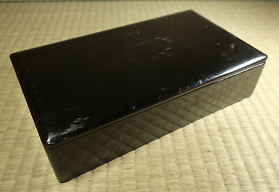 Lacquered Wooden Box / Japanese / Antique