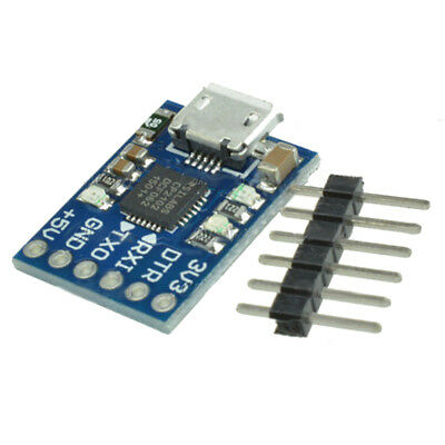Micro-USB to UART TTL Module 6Pin Serial Converter CP2102 STC SS