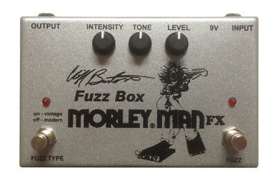 Morley Cliff Burton Fuzz Box Guitar Effects Pedal - FREE EXPEDITED SHIPPING