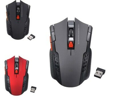 mouse 6 Pulsanti 2.4 GHz Wireless Optical Gaming