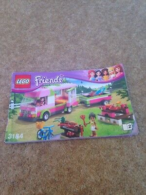 Lego Friends 3184 Instructions Only