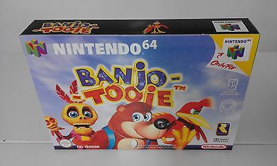 Banjo Tooie (N64) (Caja + Interior) (Only Box)