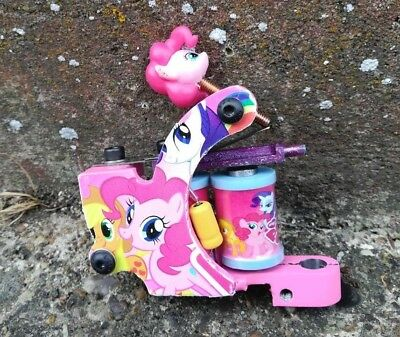 My Little Pony Walker Tattoo Machine Handmade Garage Built, Liner Shader Packer