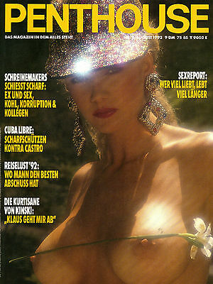 PENTHOUSE August/08/1992  BOBBY BROWN*