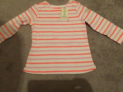 Joules Baby Girls Harbour Luxe Top, Size 12-18 Months BNWT