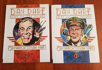 Dan Dare Pilot of the Future - Operation Saturn - Frank Hampson Hardback