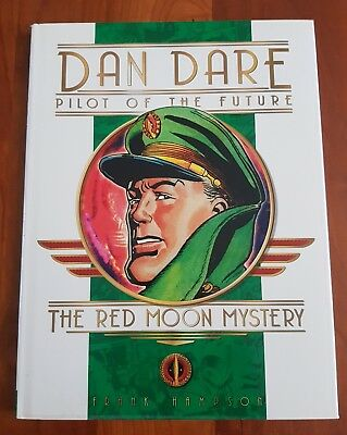 Dan Dare Pilot of the Future - The Red Moon Mystery - Frank Hampson Hardback