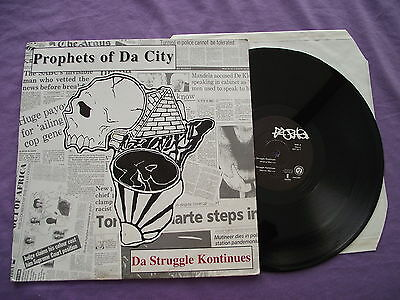 "Prophets of Da City - Da Struggle Kontinues. 12"" Vinyl single (12s744)"