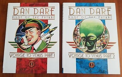 Dan Dare Pilot of the Future - Voyage to Venus - Frank Hampson Hardback