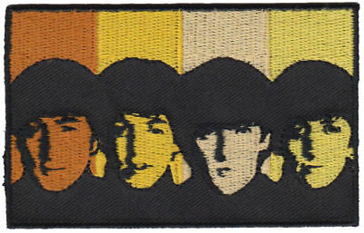THE BEATLES - Heads in Bands - Official Embroidered Patch - Iron/Sew On (SP105)