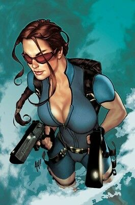 Tomb Raider (2003) #33 Nm Sealed Adam Hughes Cvr Poster Lara Croft 1 Top Cow