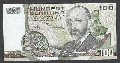 100 Schilling From Austria 1984 A5 Unc