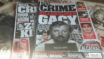 2 Real Crime Magazines