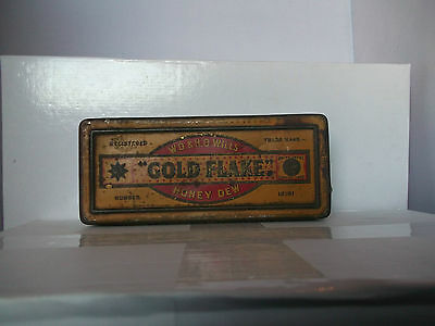 W.D.and H.O wills Gold Flake Honey Dew Tobacco tin table top size