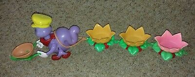 Busy Berry Bug Strawberry Shortcake Train for miniatures vintage
