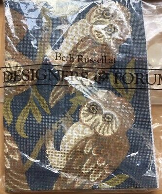 Beth Russell Owl Needlepoint Kit RELISTED