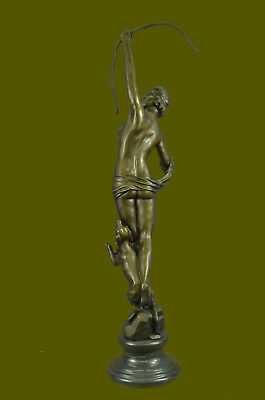 This classic bronze sculpture depicts Diana, the Roman goddess of the hunt Deal