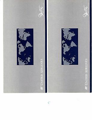 Shuttle by United Airlines Ticket Jackets