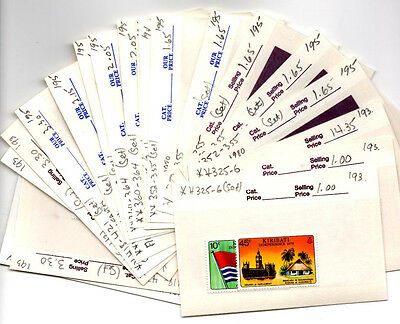 Kiribati Postage Stamp Collection All Mint Never Hinged