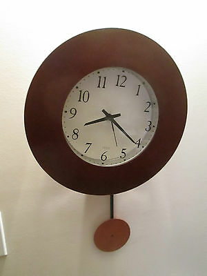 Vintage Retro Umbaa Wall Clock Made In Canada