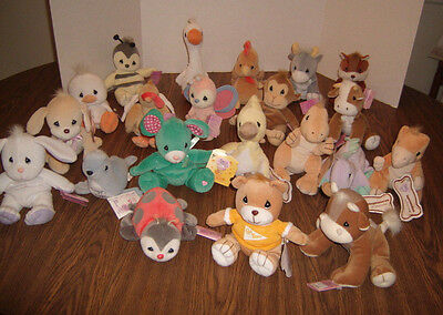 21 Precious Moments TENDER TAILS Bean Bag Plush NEW with TAGS - Easter Seal +++