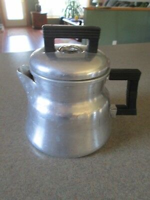Vintage Wear-Ever Aluminum Coffee Pot,  Made in USA