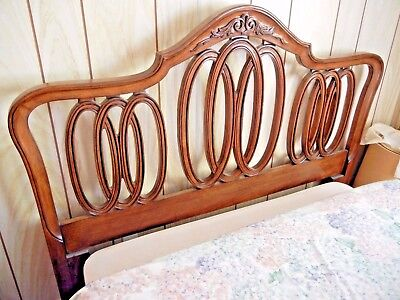 White Furniture Co Full Headboard Vintage French Provincial