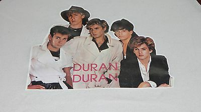 DURAN DURAN Vintage 80's HUNGRY LIKE THE WOLF Iron-on baseball jersey shirt