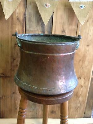 Scandinavian Copper Bucket Pale Arts Crafts
