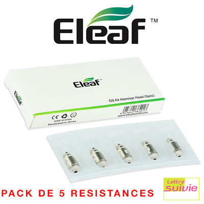 Pack 5 résistances ELEAF GS AIR PURE COTON