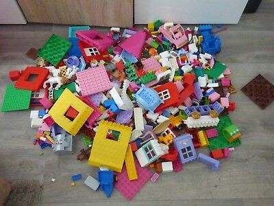 lot duplo+unico hello kitty +lego