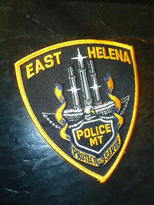 East Helena Montana Police Patch  free very quick careful shipping