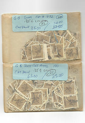Great Britian Stamp Lot #3 (Hoarders Lot)