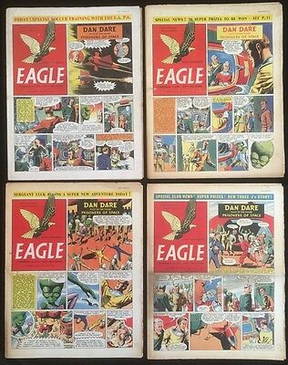 Eagle Comic Vol 6 1955 x 13 issues - Dan Dare